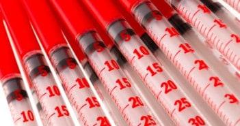 arterial blood sample