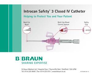 Safety IV catheter